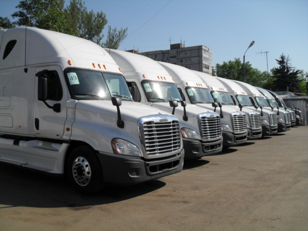 Freightliner Cascadia Фредлайнер Каскадия Фред